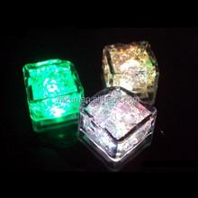 Glow Ice Cubes novelty party Light Ice/led ice cubes