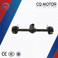 DC motor with one speed gearbox Rear Axle for India Electric tricycle or rickshaw