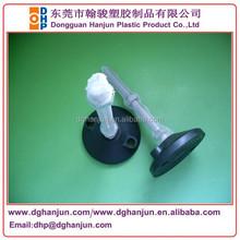 Plastic adjustable leg leveler, kitchen cabinet leveling legs