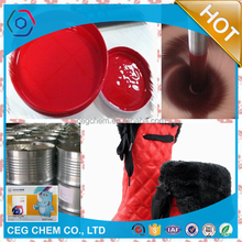 colorful pigment liquid to produce warm winter boots PU outer layer or sole