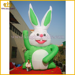 China inflatable type model, inflated rabbit replica, inflatable product animal model