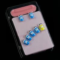 Summer colorful nail tips design press on nails