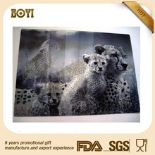 animal design PET 3D lenticular digital printing picture