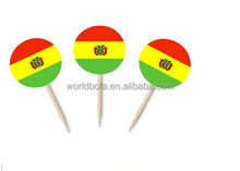 Cocktail hot selling lovely plastic colourful fan- wine stick/pick/stirrers