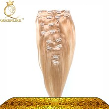 8 pieces /park clip in hair extensions brazilian weave