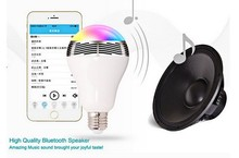 smart home led lighting iphone control music flash changeable Bluetooth bulb led