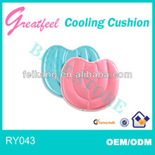 heart shape cooling cushion for seat popular in china free sample