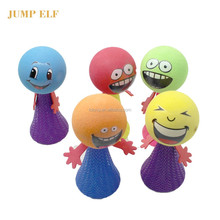 OEM EN71 flash lighting small jump elf jumpee bouncing toys for Kid jump toys