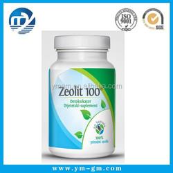 High quality calcium tablet bottle label sticker
