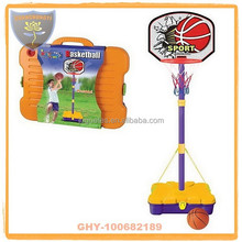 Portable basketball stands for kids with hoop and basketball