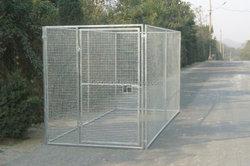 good quality galvanized steel dog kennel