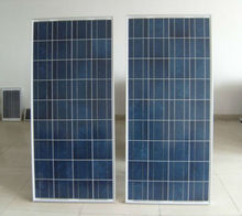 Price per watt solar panels 150w 18v low price and high efficiency for PV system, factory direct sale FOB shanghai price