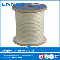 SGS Approved Rectangular Fiberglass Covered Magnet Wire