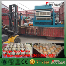 low cost fully automatic small recycling waste paper pulp chicken egg tray machine
