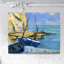 Seascape & Boat Impressionist Oil Painting - Xiamen