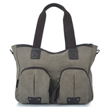 2012 Fashion Ladies' Canvas Handbag