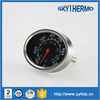 Adjustable black oval shape bimetal oven thermometer with two kinds of probe