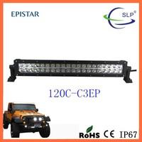 120W LED LIGHT BAR 40 x 3W 12V 24V WORK LAMP Off Road Spot Flood COMBO 21.5''