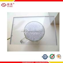 Effacer lexan solide polycarbonate tôle de toiture feuille de couverture transparente