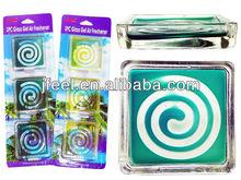 2015 New Glass Gel Air Fresheners,Crystal Aroma,Ambientadoe Air Refresh