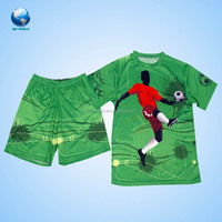 Big world sublimation custom jersey & custom soccer jersey & football jersey SZBW-KM