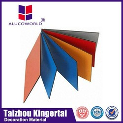 On sale Alucoworld made in china excellent quality interior decoration pvdf coating on aluminium wall panel