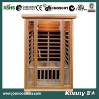 2015 mini far infrared sauna cabin KL-200C-R