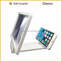 3D Movie Amplifier 3X Zoom Enlarged Phone Screen stand