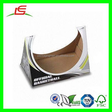 D219 Corrugated Paper Printing Foldable Customized Basketball Hold Box