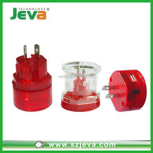 2015 Malaysia world travel plug with usb for your best traveling smart adapter for your choose