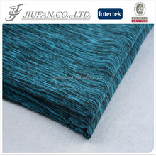 Jiufan Textile 2015 Hot Selling Plain Dyed Knit Rayon Polyester Span Fabric For Garment Sweater
