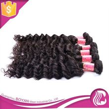 2015 New Design 100% Natural Human Hair Wholesale Supply Virgin Unprocessed Indian Hair From India