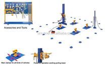 UNILNER floor system auto body collision repair system UL-L155 auto body collision repair system car repair equipment