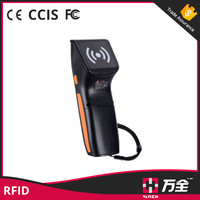 guard tour/access control/parking system uhf rfid handheld reader