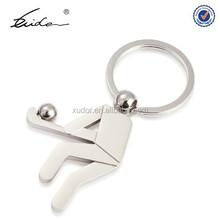 Hockey Player Metal Keychain, Promotional Gift Keychain