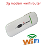 High quality 7.2mbps 3g wireless mifi wcdma router with sim card slot