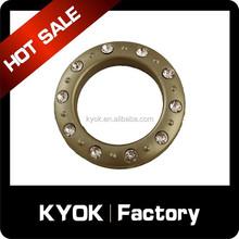 Supply variety style high quality curtain ring, diamond decor curtain eyelet wholesale
