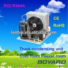 R22 compressor cold room freezer condenser unit for mini bar fridge unit