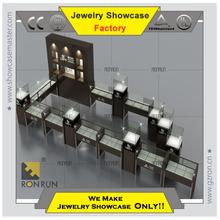 Jewelry display showcase jewelry kiosk whole store design