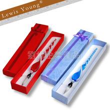 Glass dip pen for festival gift set/Christmas Glass Dip Pen