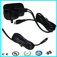 TUV CE 12v 1a set top box switching power adapter,power adapter input 100~240v ac 50/60hz,usb power adapter