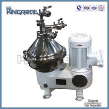 verticale stile pila disco centrifuga succo di cocco macchina di estrazione del petrolio