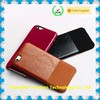 for iphone leather case, back leather case for iPhone 2015 New Products