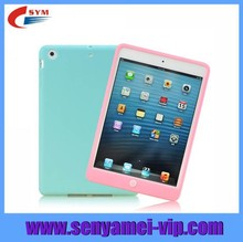 2015 New Hot Products For iPad Air 2 Case Silicone Cover,For Apple iPad 6 Rubber Cases