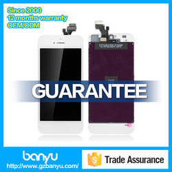 Hot sale lcd display and digitizer replace for iphone 5 lcd high quality