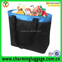 Outdoor fitness 600D insulated lunch bag 45 can Freezer can coolers Tote