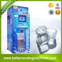 Coin/note/IC Card Operated Outdoor Ice Vending Machine for Sale
