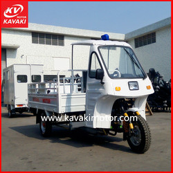 2015 Latest Style Petrol Three Wheel Motorcycle/Electric Car For Cargo