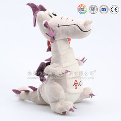 Soft dragon manufacturer making cute plush stuffed toy dragon