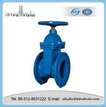 DIN iron PTEF sealing gate valve water gate valve DN40